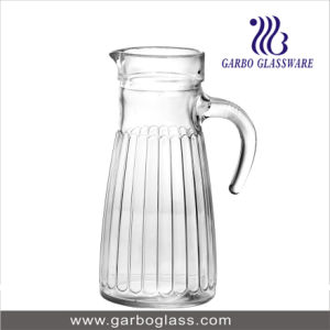 1L Glass Water Jug with Handle pictures & photos