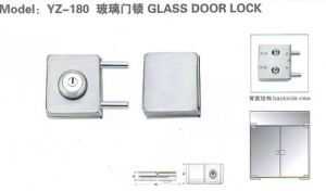 Yz-180 Stainless Steel, Stainless Iron Glass Door Lock pictures & photos