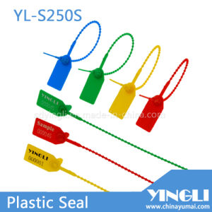 Pull Tight Adjustable Plastic Seal with Serial Number & Logo (YL-S250S) pictures & photos