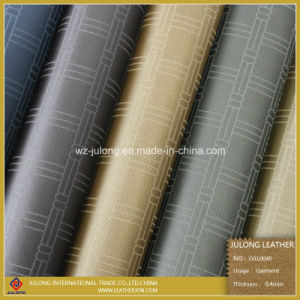 High Quality Synthetic PU Leather with Printing (G010) pictures & photos
