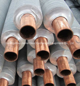 Copper Tube with Aluminum Fin in Extruded Type Fin Tube pictures & photos