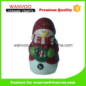 Porcelain Christmas Cruet for Christmas Snowman Ornament pictures & photos