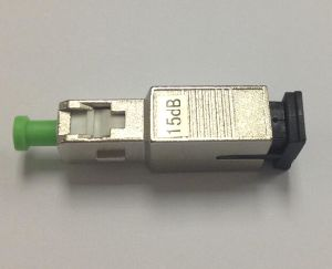 Sc/APC Singlemode 0-25dB Fiber Optic Attenuator pictures & photos