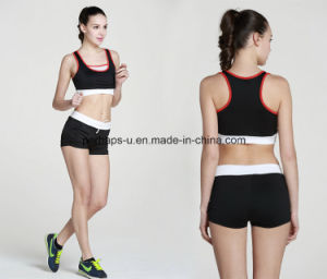 Fashion Quickly Dry Comfortable Gym Bra Yoga Shorts Fitness Suit pictures & photos