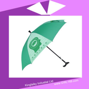 New Umbrella with Crutch Handle for Gift P014-012 pictures & photos