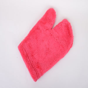 Red, Customize, Microfiber Clean Protective Gloves pictures & photos