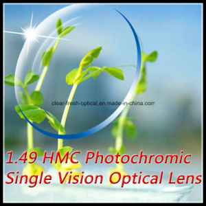1.49 Hmc Photochromic Single Vision Optical Lens