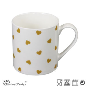 New Deisng Hearts Design Cheap New Bone China Mug pictures & photos