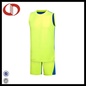 Two Colors Sports Custom Logo Basketball Jerseys for Man pictures & photos