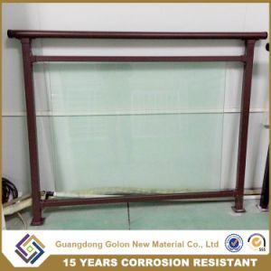 Glass Baluster Balcony Handrail Railing pictures & photos
