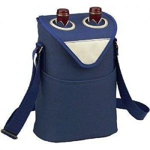 Wholesale 2 Wine Bottles Cooler Bag pictures & photos
