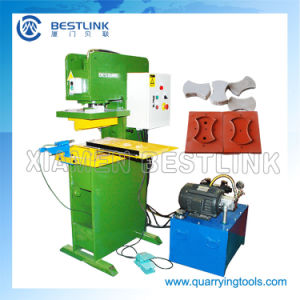 Cp90 Natural Face Stone Stamping Machine pictures & photos