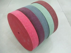 Maroon Color Nonwoven Abrasive Wheels pictures & photos