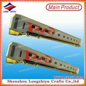 Hot Sale Custom Gold Plating and Soft Enamel Tie Clip in Low Price pictures & photos