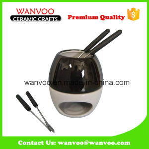 New Round Cookware Mini Chocolate Fondue From China Factory pictures & photos
