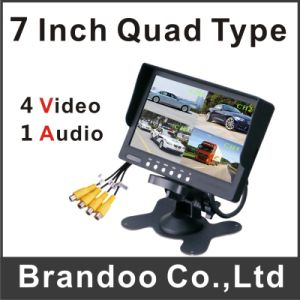 4 Channel Quad 7 Inch Car Monitor pictures & photos