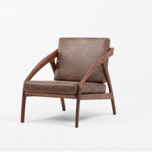 Modern Walnut Oak Beech Wooden Hotel Lounge Living Room Sofa pictures & photos