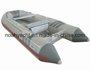 Foldable Aluminum Floor Inflatable Boat pictures & photos