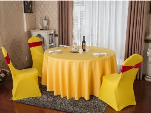 West Restaurant Table Cloth and Chair Cover pictures & photos