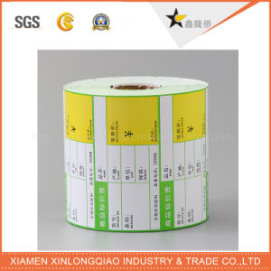 Printed Cmyk Barcode Adhesive Paper Label Printing Service Printer Sticker pictures & photos