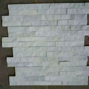 Natural Pure White Quartzite Ledge Wall Stone pictures & photos