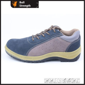 Sport Style Suede Leather Safety Shoe (SN5373) pictures & photos
