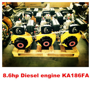 Top Selling New Product Single Cylinder Air Cooled 186F Marine Diesel Engine with Gearboxes (KA186F) pictures & photos
