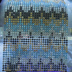 24 Row Mesh Crystal Trims pictures & photos