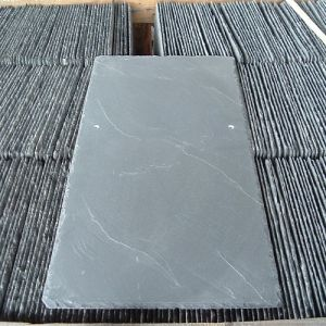 Natural Balck/Grey/Green Slate Stone Tiles for Roofing/Wall Cladding pictures & photos