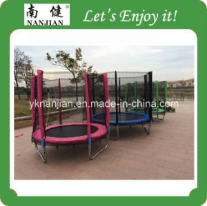 10 Ft Trampoline Bed with Enclosure Tested by New GS CE Standard pictures & photos