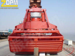 Deck Crane Electric Hydraulic Clamshell Grab pictures & photos