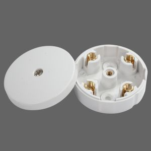 20A 58mm Plastic Connection Box with Round Shape