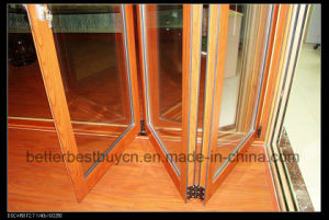 Full Alloy Thickness Bifolding Aluminum Door pictures & photos