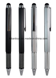 Factory Supply Luxury  Metal Ball Pen with Touch and Ruler (LT-C765) pictures & photos