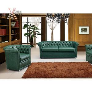 European Style Leather Sofa Set (SF2301)
