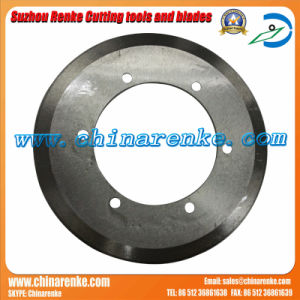 Circular Round Paper Cutting Blade of Tungsten Carbide Disc Cutter pictures & photos