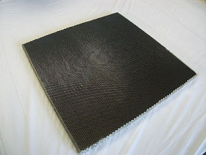 Black Micropore Honeycomb Core for Laser Cutting Machine pictures & photos