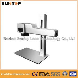 Small Laser Engraver for Metal Parts/Laser Logo Marking Machine on Stainless Steel pictures & photos