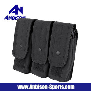 Anbison-Sports Airsoft Molle Tri Ak Magazine Pouch Holder pictures & photos