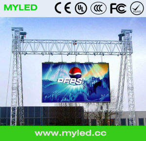 Outdoor Rental LED Display with Hanging Structure pictures & photos