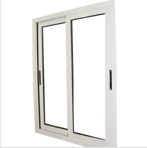 Aluminium Sliding Single/Double Tempered Glass Window