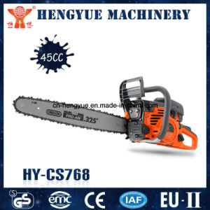 Best Selling New Model Gasoline Chain Saw Machine pictures & photos