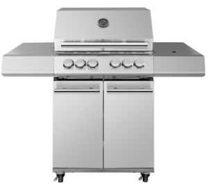 Full Stainless Steel Gas BBQ Grill 4+1 Burner pictures & photos