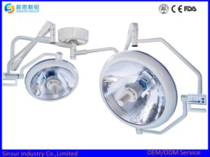 Qualified Good Color Temperature Double Dome Shadowless Halogen Operating Light pictures & photos