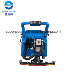 Walk Behind Floor Scrubber with Battery or with Cable pictures & photos
