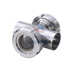 Stainless Steel Cross Sight Glass for Piping System pictures & photos