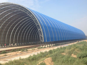 Steel Space Framing Coal Storage for Thermal Power Plant pictures & photos