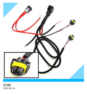 H11 880 Relay Wiring Harness Fit HID Conversion Kit Add-on LED DRL Fog Lights pictures & photos