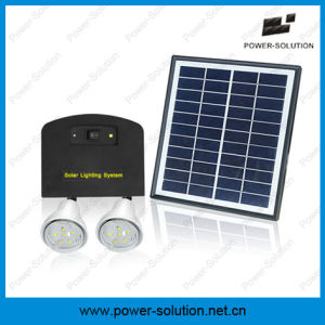 Solar Energy Lighting System with Phone Charger for Home and Camping pictures & photos