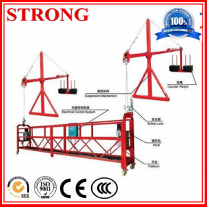 Zlp Series Steel or Alumium Cradle, Gondola, Scaffolding Platform, Suspended Rope Platform, Swing Stage for Window Cleaning pictures & photos